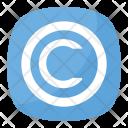 Copyright Legal Law Icon