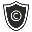 Copyright Protection Shield Icon