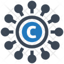 Copyright Content Education Icon