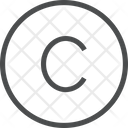 Copyright Sign Sign Symbol Icon