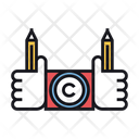 Copyright Conflict Conflict Copyright Icon
