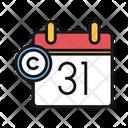 Copyright Expiry Calendar Copyright Icon