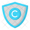 Copyright Shield Icon