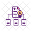 Copyrighted Materials Copyright Material Icon