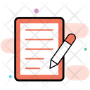 Content Production Content Writing Content Management Icon