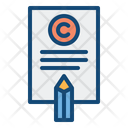 Copywriting Agreement Pencil Icon