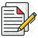 Article Writing Blog Writing Content Writing Icon