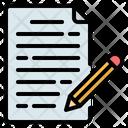 Copywriting Writing Content Icon