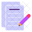 Copywriting Content Creation Article Writing Icon