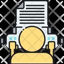 Copywriting Copywriter Copy Icon