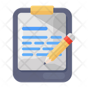 Copywriting Book Writing Notepad Icon