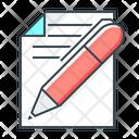 Copywriting Edit File Icon