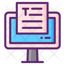 Copywriting Content Writing Article Writing Icon