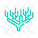 Coral Plant Color Icon