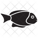 Coral Rabbitfish Underwater Icon
