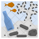 Coral Reefs Destruction Icon