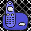 Cordless Communication Phone Cordless Telephone Icon