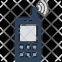 Cordless Phone Intercom Police Radio Icon