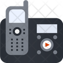 Cordless Phone Telecommunication Communication Icon