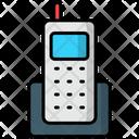 Cordless Phone Portable Telephone Telecommunication Icon