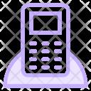 Cordless Landline Phone Icon