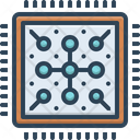 Core Core Group Complex Icon