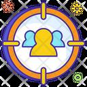 Business Target User Goal Target Customer Icon