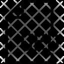 Corel draw file Icon