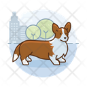 Corgi Dog Corgi City Icon