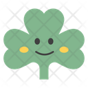 Coriander Face Emoji Icon