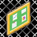Office Board Corkboard Soft Board Icon