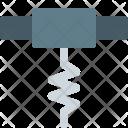 Corkscrew Open Icon