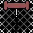 Corkscrew Cork Bottle Icon