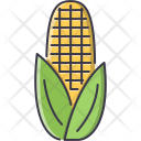 Corn Vegetable Cooking Icon