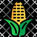 Corn Food Farming Icon