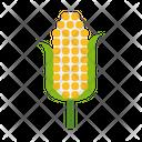 Corn Cob Vegetable Icon