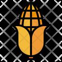Corn Crop Field Icon