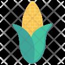 Corn Crop Vegetable Icon