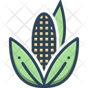 Corn Maize Agricultural Icon