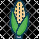 Cornm Corn Farming Icon