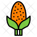 Corn Cereal Food Icon