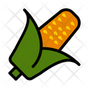 Corn Vegetable Autumn Icon