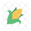 Corn Vegetable Cob Icon