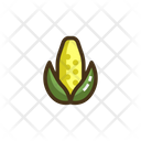 Corn Vegatbale Vegatbales Icon