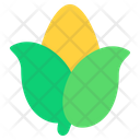 Corn Vegan Food Icon