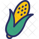 Corn Food Maize Icon
