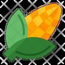 Corn Health Vegetarian Icon
