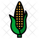 Corn Cereal Vegan Icon
