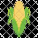 Corn Cob Healthy Food Corn Stick Icon