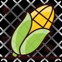 Corn Cob Corn Stalk Ripe Corn Icon